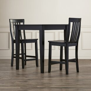 Affordable Pittman 3 Piece Pub Table Set By Charlton Home