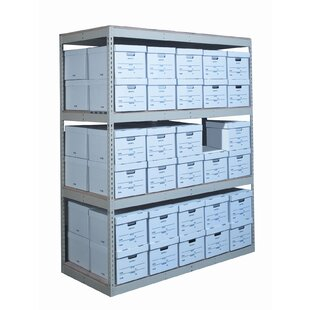 Record Storage Decking 3 Shelving Unit Add On