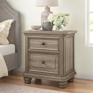 Thames 2 Drawer Nightstand by Three Posts