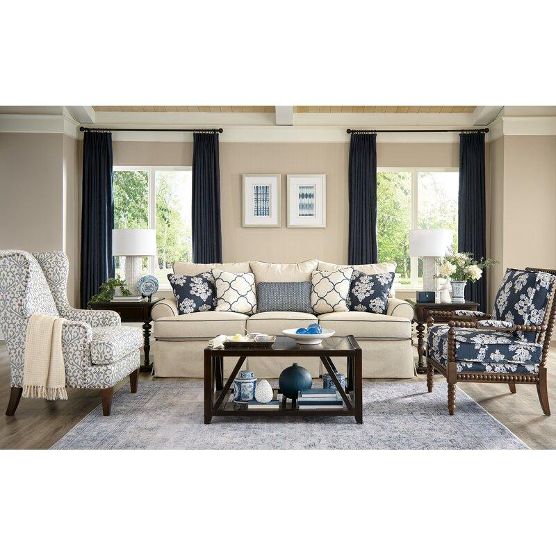 Simple Office Room Design, Paula Deen Home Montford Sofa Wayfair