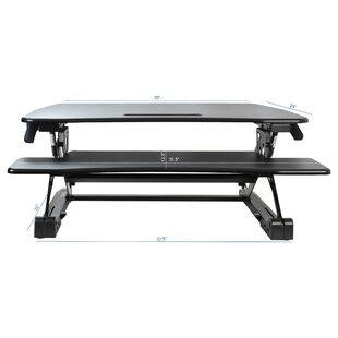 Haynes Deluxe Standing Desk Converter by Latitude Run