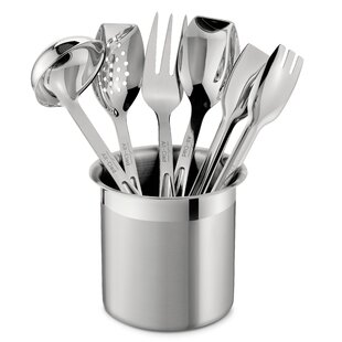 All Professional Tools 6 Piece Cook Serve Tool Utensil Set