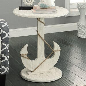 Barlow End Table by Beachcrest Home