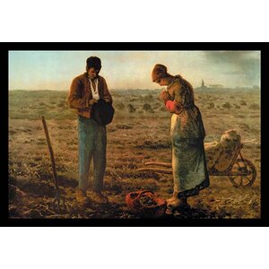 'The Angelus' by Jean Francois Millet Painting Print by Buyenlarge