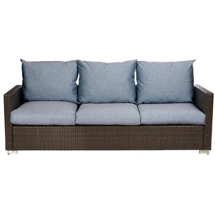 Mcmanis Patio Sofa with Cushion By Ivy Bronx