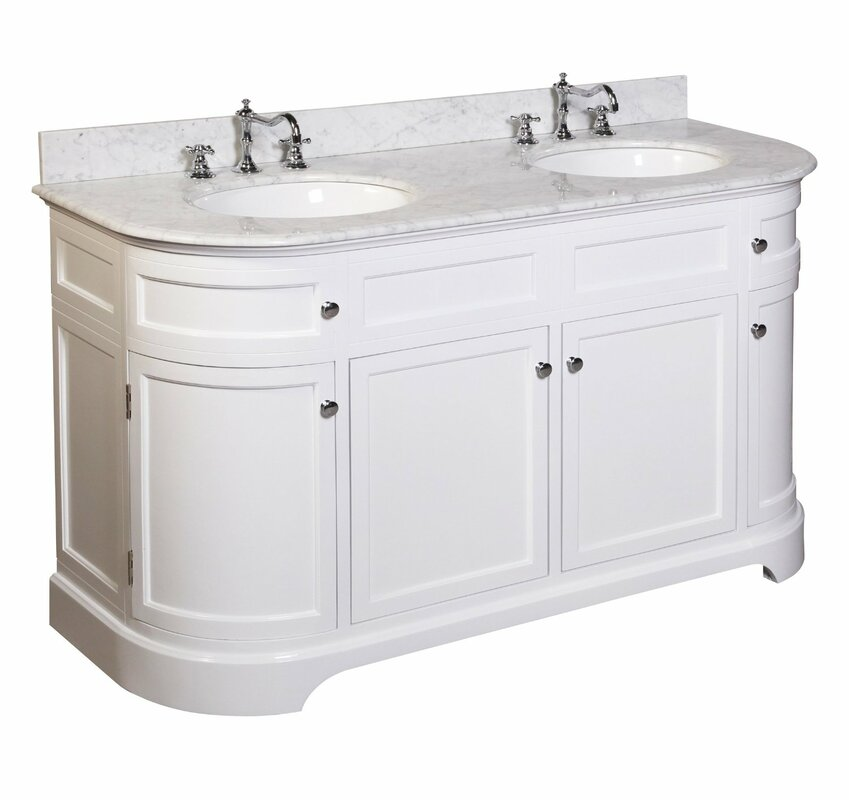 60 Bathroom Vanity | Kbc Montage 60 Double Bathroom Vanity Set Reviews Wayfair
