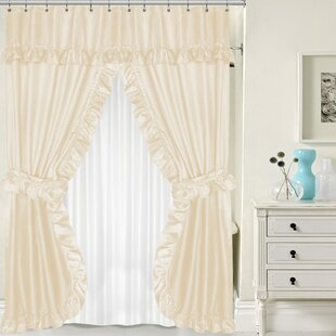 Double Panel Shower Curtain