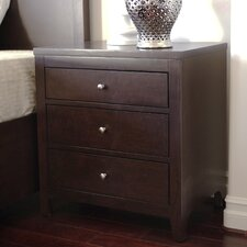 Linglestown 3 Drawer Nightstand by Red Barrel Studio