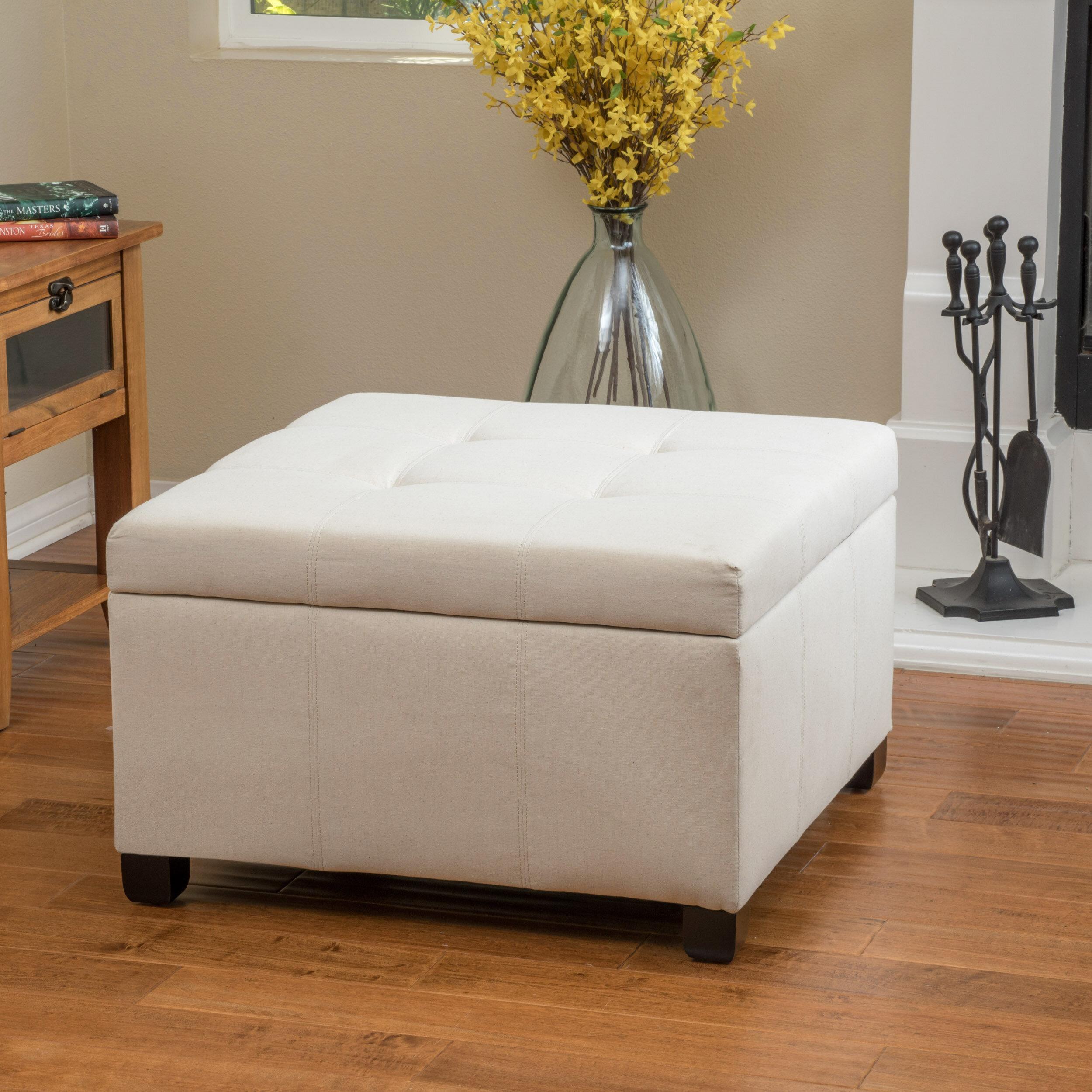 Wondrous Latitude Run Isabeth Hardee Tufted Storage Ottoman Reviews Short Links Chair Design For Home Short Linksinfo