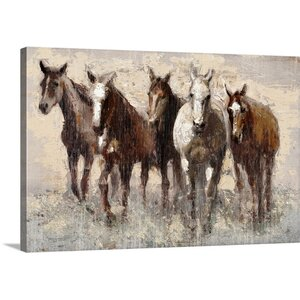 'Harras' by Edward Selkirk Painting Print on Canvas by Great Big Canvas
