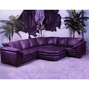 Fargo Leather Sectional Omnia Leather