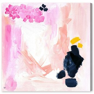 Happy Life Painting Print on Wrapped Canvas by Mercer41