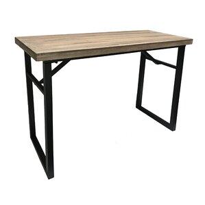 Calie Wood Veneer Console Table by Gracie Oaks