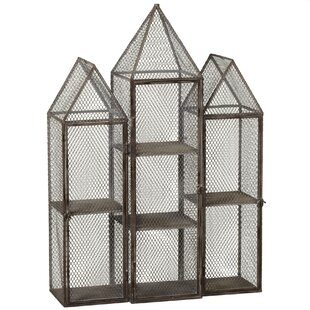 Affordable Outdoor Living Triple Tower 7 Compartment Cubby ByCBK