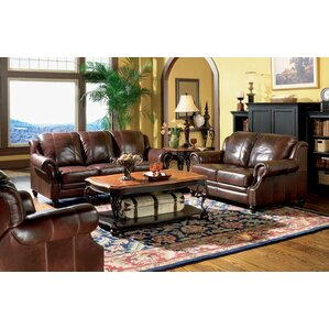 harvard leather configurable living room set - Living Room Sets Leather