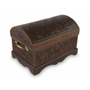 Incroyable Treasure Chest Mohena Wood Jewelry Box