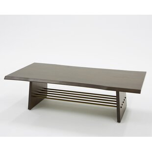 Eatmon Acacia Coffee Table with Tray Top