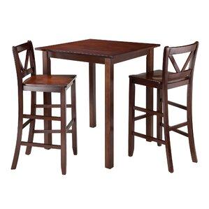 Parkland 3 Piece Pub Table Set by Winsome