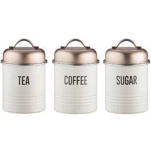 Mayfair Vintage 3 Piece Coffee Tea Sugar Set