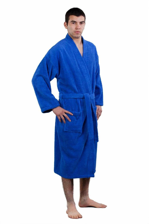b769fa0d45 The Twillery Co. Fontaine Kimono 100% Turkish Cotton Bathrobe ...