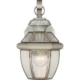 Mellen 1-Light Traditional Incandescent Outdoor Wall Lantern By Three Posts Outdoor Lighting