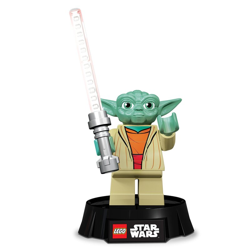"Lego Star Wars Yoda Desk Lamp 9.5"" Table Lamp"