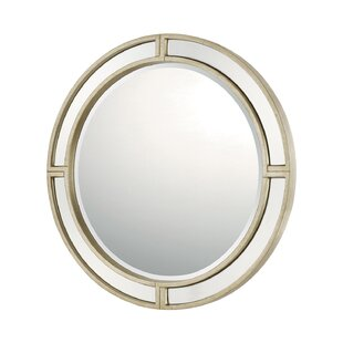 Darby Home Co Round Decorative Accent Wall Mirror