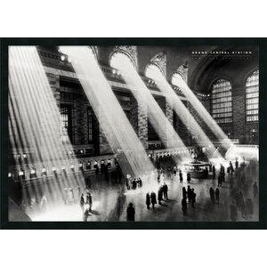 Grand Central Station Framed Photographic Print by Amanti Art