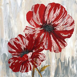 'Red Poppies II from Willow Way StudiosInc collection' Print by East Urban Home
