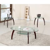 Lester 3 Piece Coffee Table Set by Ebern Designs