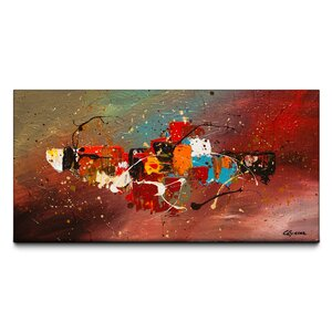 Boundaries by Carmen Guedez Painting Print on Canvas by Artefx Decor