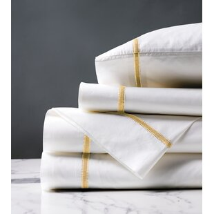 Shop Remy Satin Stitch 200 Thread Count Sheet Set By Eastern Accents