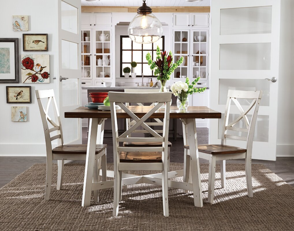Elegant Amelia 5 Piece Dining Set