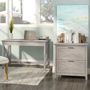 Writing Desk With File Cabinet | Wayfair