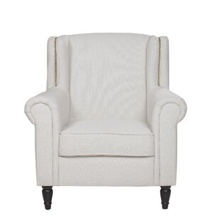 Inexpensive Riverside Wingback Chair By Charlton Home