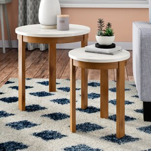 Comparison Caison 2 Piece Nesting Tables By Mercury Row