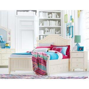 Otto Low Poster Slat Storage Configurable Bedroom Set