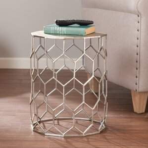 Kendrick Metal End Table by Willa Arlo Interiors