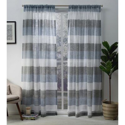 Blue Rod Pocket Curtains Amp Drapes You Ll Love In 2019