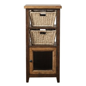 Sceinnker Solid Pine Accent Cabinet