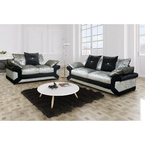 2-tlg. Couchgarnitur Vagos von Fairmont Park