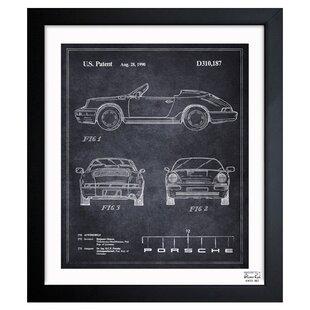 U0027Porscheu0027 Framed Graphic Art Print