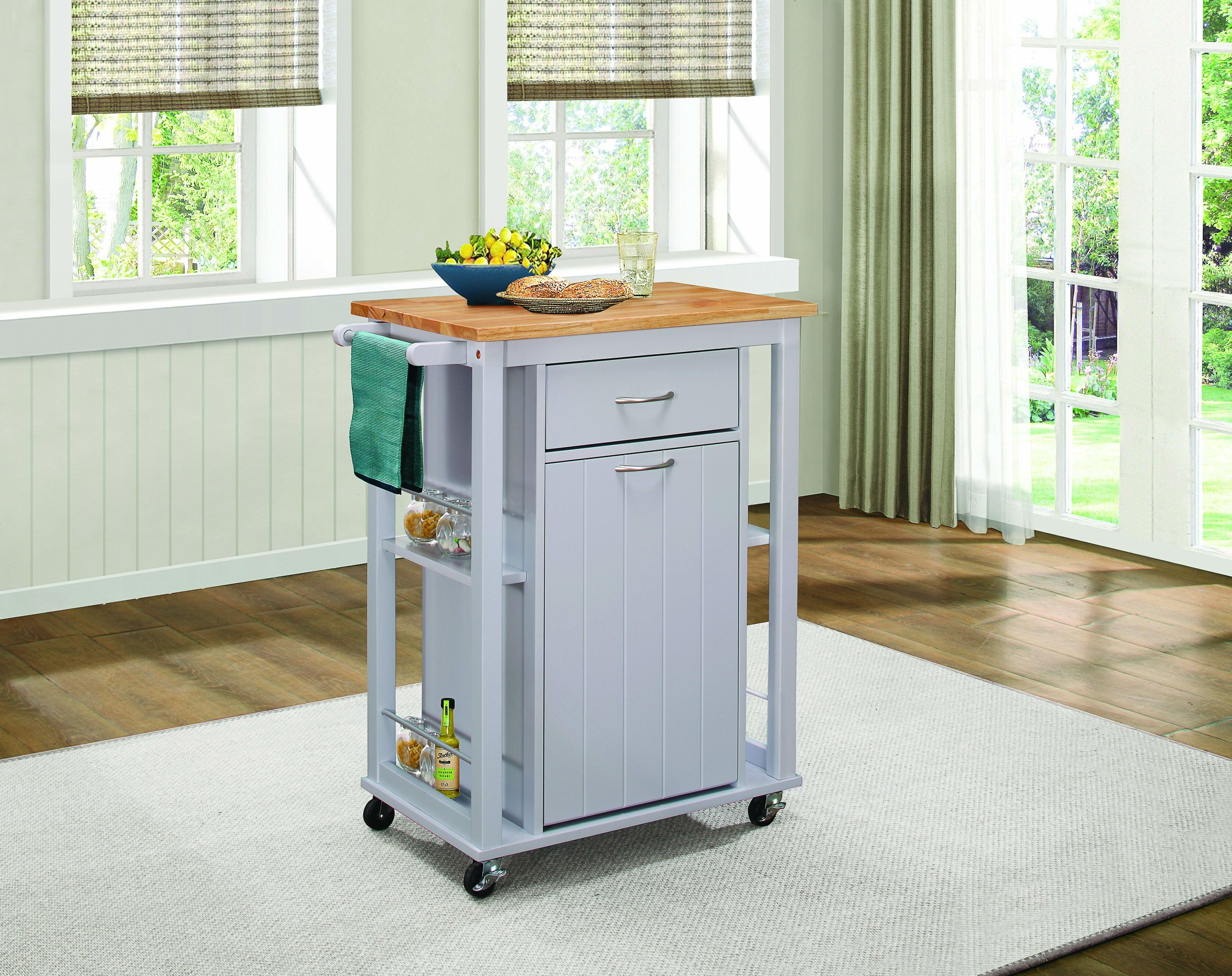 Darby Home Co Kempton Kitchen Cart | Wayfair