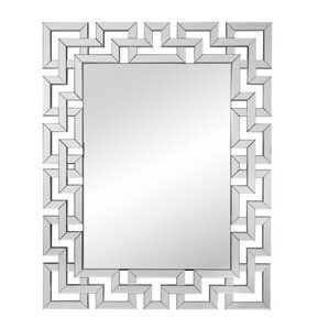 Wayfair Wall Mirrors geometric wall mirror | wayfair