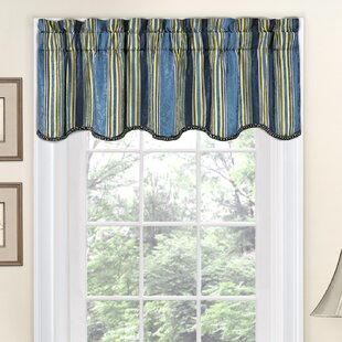 Attirant Striped Valances U0026 Kitchen Curtains Youu0027ll Love | Wayfair