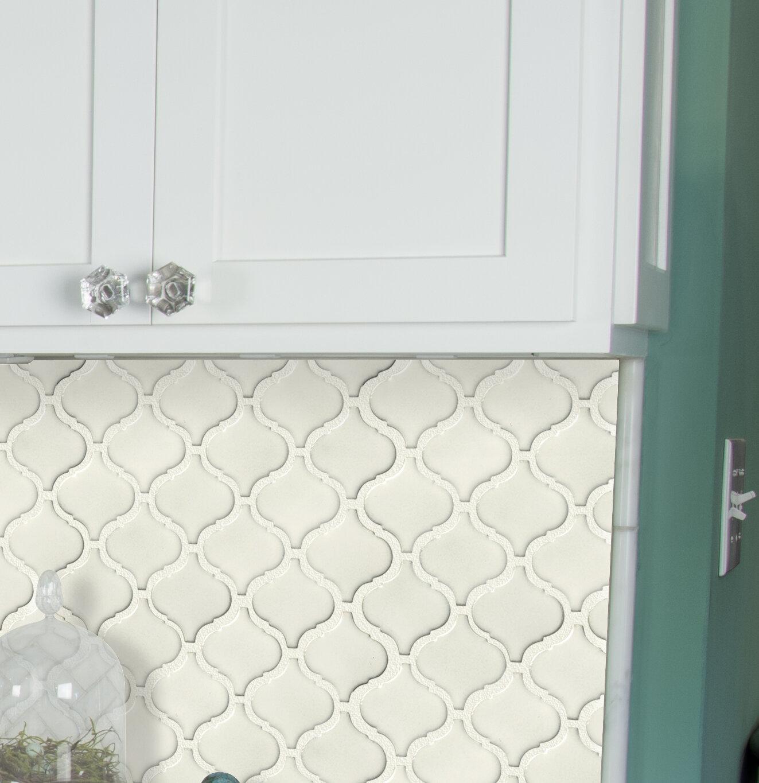 - MSI Bianco Arabesque Ceramic Mosaic Tile Wayfair