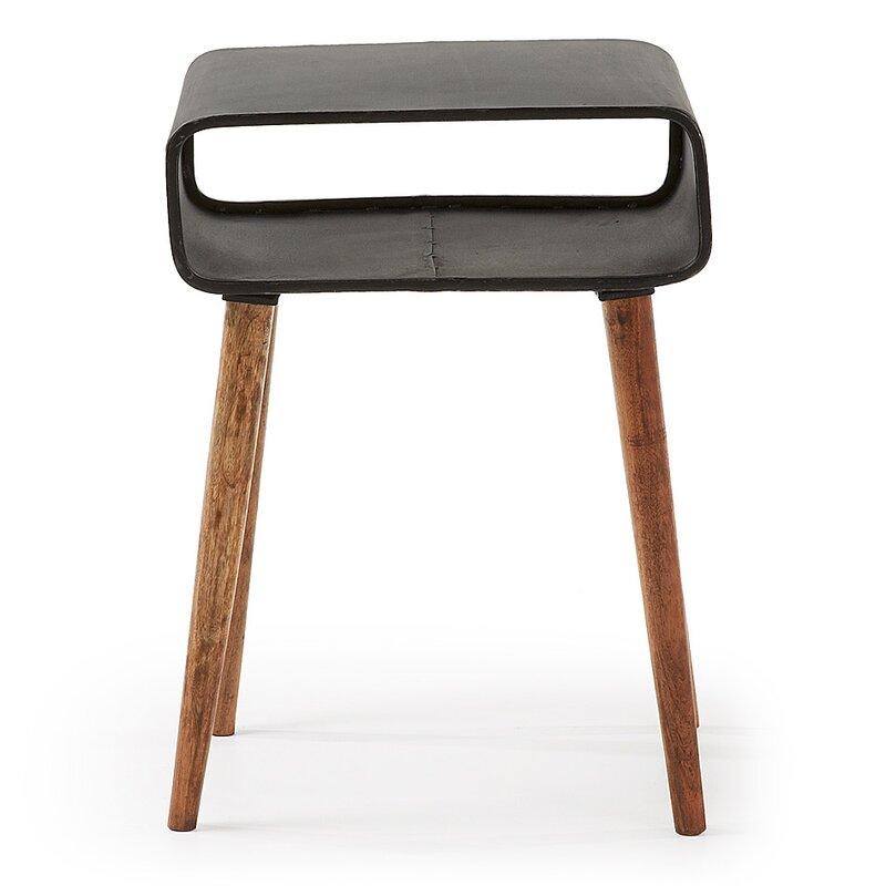 werkstadt beistelltisch hallandale mit stauraum. Black Bedroom Furniture Sets. Home Design Ideas