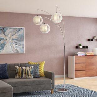 Low priced Amelie 92.5 Tree Floor Lamp By Wade Logan