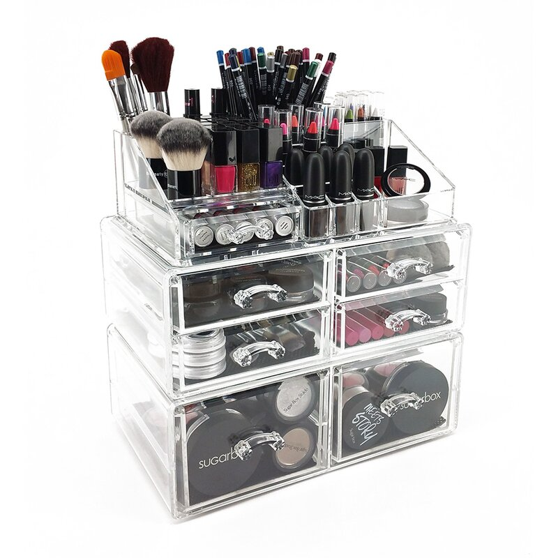 Ondisplay Sarah Deluxe Tiered Cosmetic Organizer