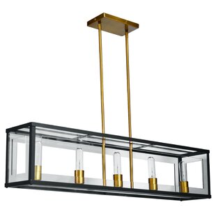Arnone 5-Light LED Kitchen Island Pendant By Brayden Studio